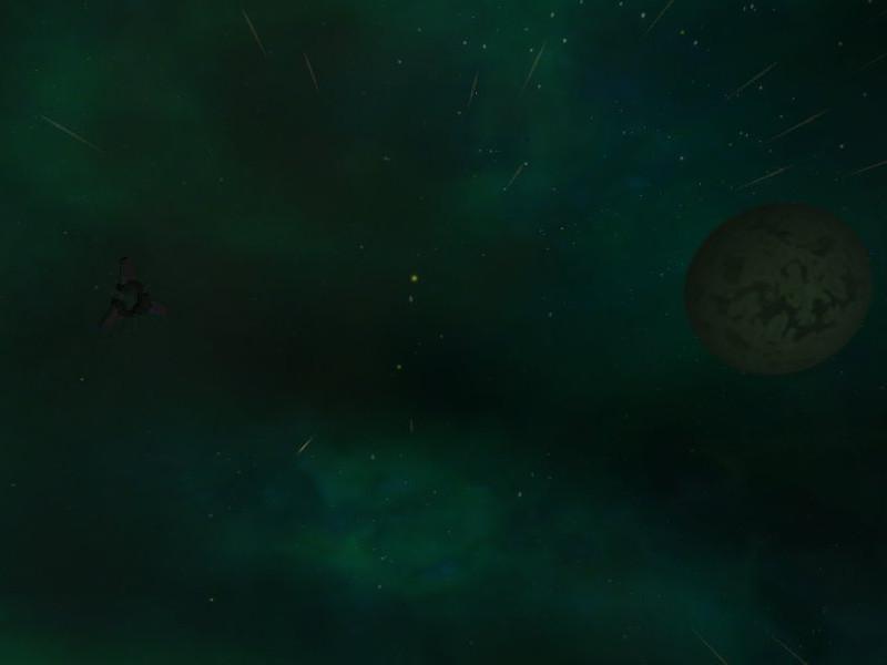 Omicron Alpha green nebulae